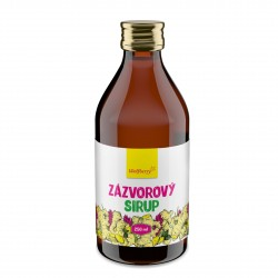 Zázvorový sirup Wolfberry 250 ml