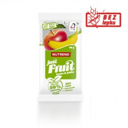 Tyčinka JUST FRUIT banán + jablko Nutrend 30 g