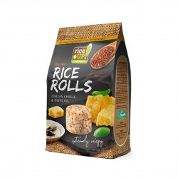 Rýžové minichlebíčky italský sýr, olivový olej Rice Up 50 g
