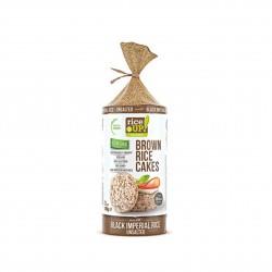 Rýžové chlebíčky s černou rýží nesolené Rice Up 120 g