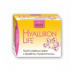 Noční pleťový krém s kyselinou hyaluronovou Hyaluron life Bione Cosmetics 51 ml