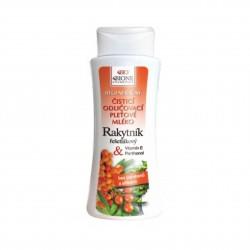 Čistící odličovací pleťové mléko Rakytník Bione Cosmetics 255 ml, EXPIRACE 31.3.2020