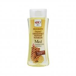 Čistící odličovací pleťové tonikum Med + Q10 Bione Cosmetics 255 ml
