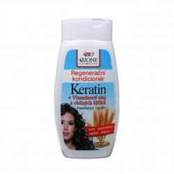 Regenerační kondicioner Keratin z obilných klíčků Bione Cosmetics 260 ml