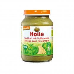 Dětská výživa Brokolice s celozrnnou rýží BIO 190 g Holle