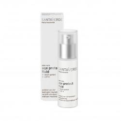 Ochrana pokožky před sluncem Age protect 30 ml Santaverde