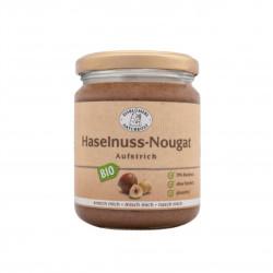 Krém z pražených lískových ořechů Nugát BIO 250 g Eisblumerl