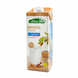 Mandlový nápoj + kalcium BIO 1 l Allos, EXPIRACE 6.2.2020