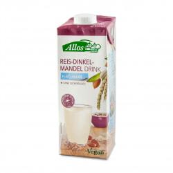 Rýžovo mandlový nápoj se špaldou Natural BIO 1 l Allos