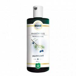 Jalovcový masážní olej 200ml Topvet