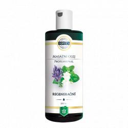 Regenerační masážní olej 200ml Topvet