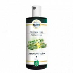 Citronová tráva masážní olej 200ml Topvet