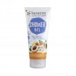 Sprchový gel meruňka a bezinkový květ 200 ml Benecos