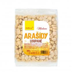 Arašídy loupané Medium 250 g