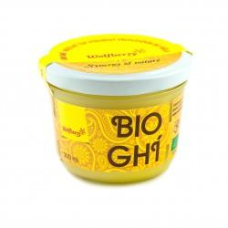 Ghí - přepuštěné máslo Wolfberry BIO 200 ml