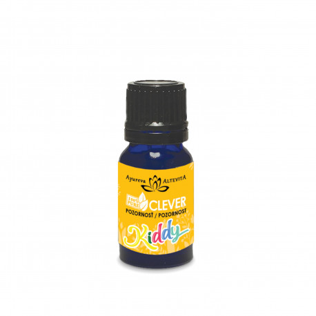 Esenciální olejová směs Kiddy Clever - Pozornost 10 ml Altevita