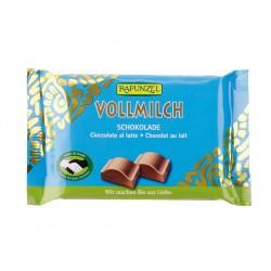 Čokoláda mléčná Rapunzel BIO 100 g