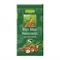 Čokoláda rýžová s kousky oříšků Rapunzel BIO 100 g