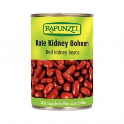 Červené fazole sterilované Rapunzel BIO 400 g
