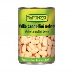 Bílé fazole sterilované Rapunzel BIO 400 g