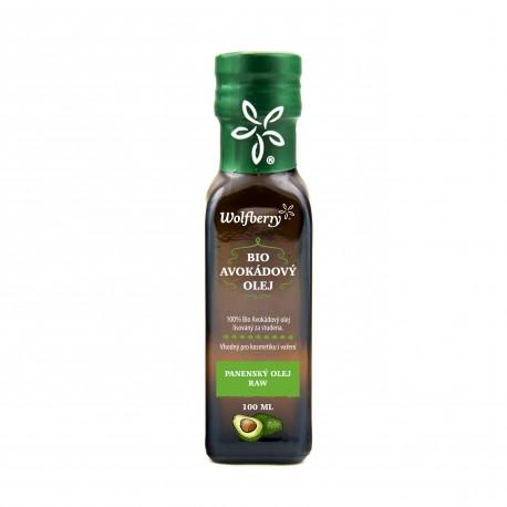 Avokádový olej Wolfberry BIO 100 ml